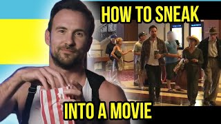 How to Sneak Into Movie Theaters (Steven Stealberg)