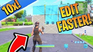 PRO Tips to Edit 10x FASTER on Console Fortnite! How to Edit Fast in Fortnite