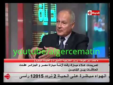 THE TRUTH BEHIND?-AHMED ABU EL GHEED - ALGERIA VS EGYPT CRISIS AND- IN SUDAN  WAS FABRICATED-,,