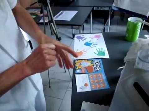 Hygiène des mains dans la boite à coucou