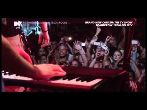 Rudimental ft Ed Sheeran - Bloodstream @ Ibiza Rocks 29/07/15