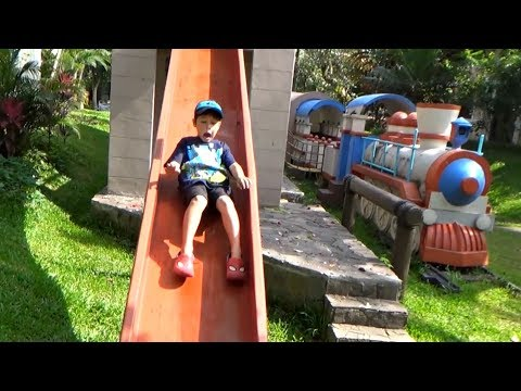 OUTDOOR PLAYGROUND - Family Park with Slides - Taman Bermain Anak