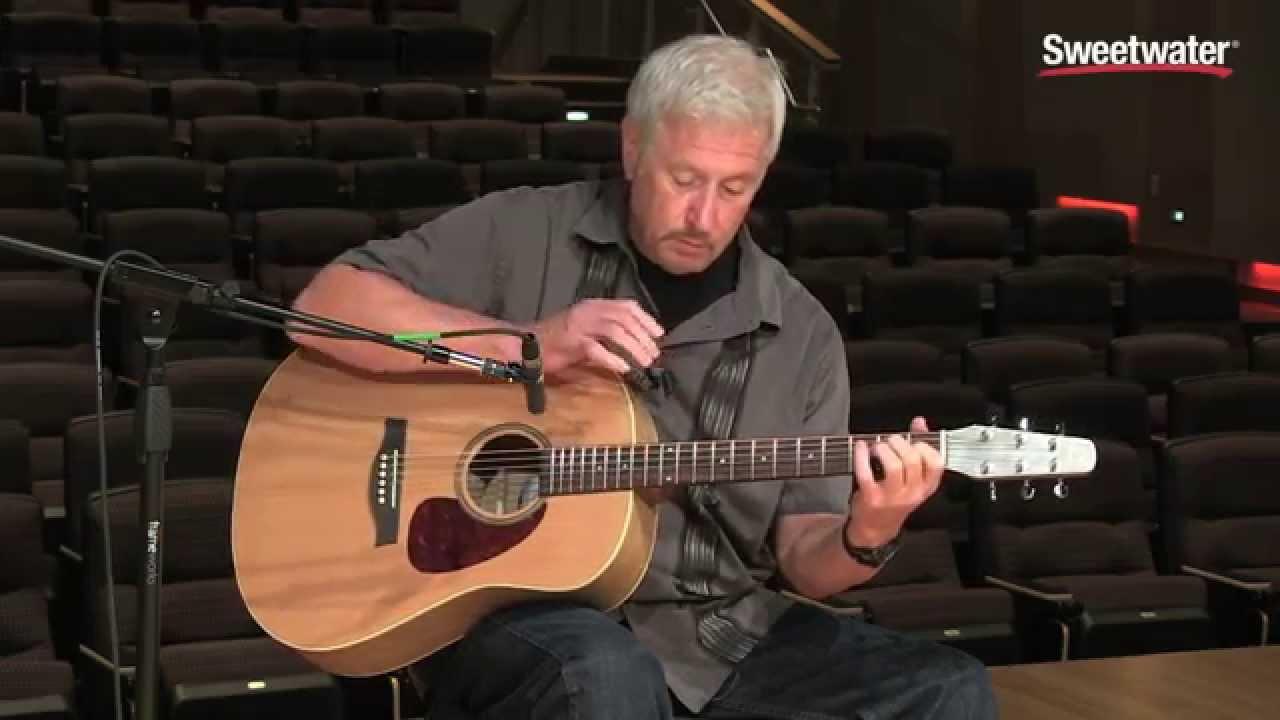 Seagull S6 Original Q1 Acoustic Electric Guitar Demo