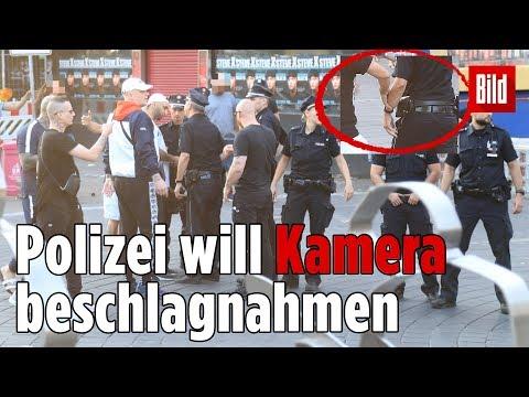 Polizei-Einsatz bei 187 Strassenbande-Videodreh