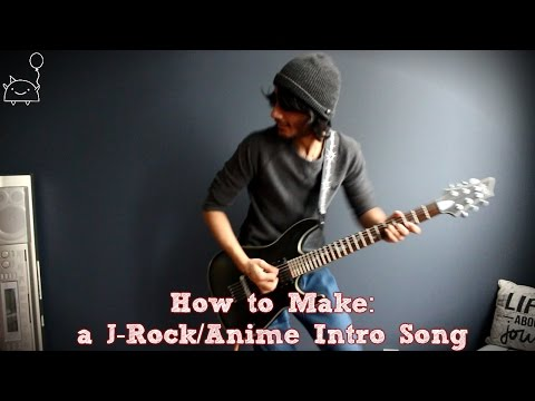 How To: Make a J-Rock/Anime Intro Song in 5 Min or Less (+ Full Song at the End) || Shady Cicada