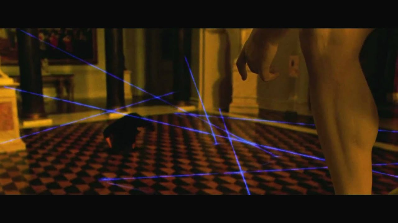 Oceans Twelve Laser Dance Hd Youtube