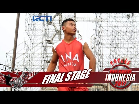 SASUKE NINJA WARRIOR INDONESIA - Tri Mardiyanto Di Final Stage [23 Desember 2017]