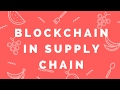 Blockchain for Supply Chain Transparency & Traceability - Simardeep
