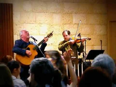 Paul Wilbur with Maurice Sklar Praise Adonai Video  4