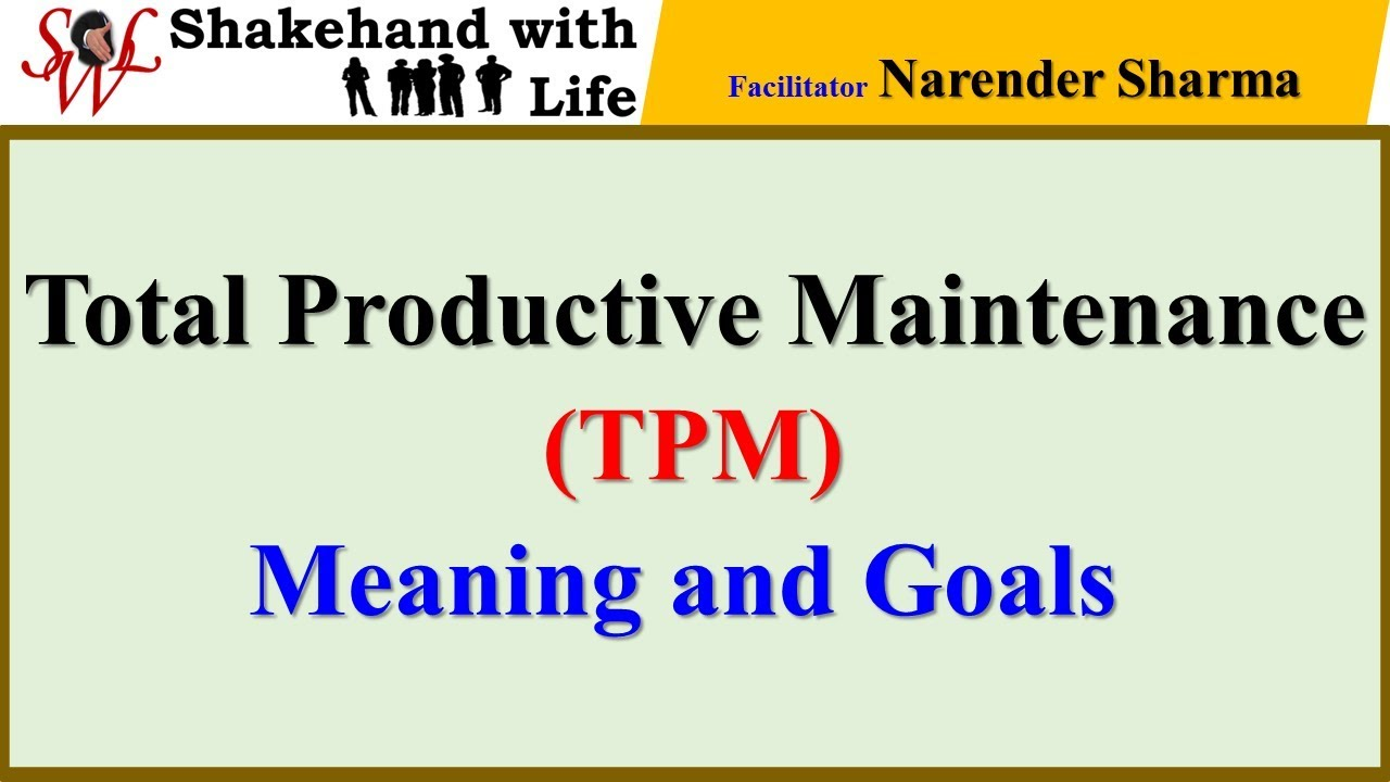 Maintenance ebook productive total