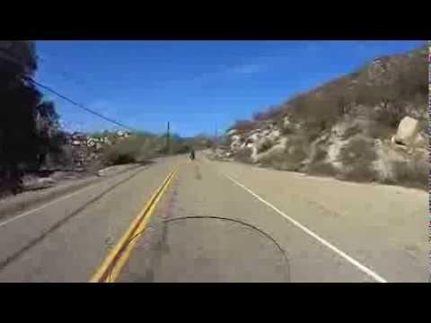 Motorcycle Ride North on Sage Rd. to Hemet, California