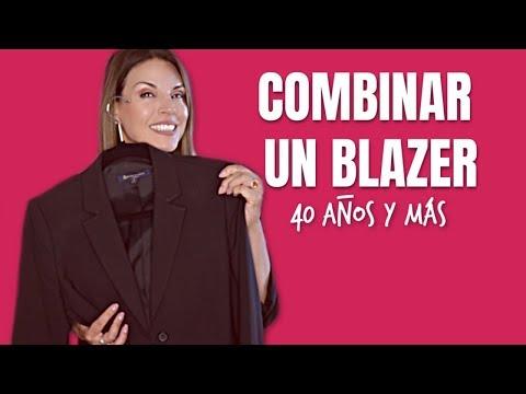 Cómo Combinar Un Blazer | Un Blazer Varios Estilos | 40 Años Y Más