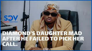 \'\'Papa, why aren\'t you answering!\'\' Diamond\'s daughter mad after father failed to pick her call