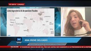 Entrevista a la abogada Ana Irene Delgado, sobre la lista negra de la UE de parísos fiscales