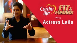 Actress Laila on her Fitness Regime and Healthy Eating | Fit and Famous | JFW