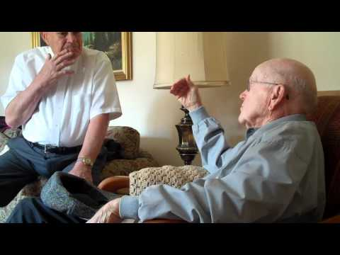 WWII waist gunners discussion B24 bomber.MP4