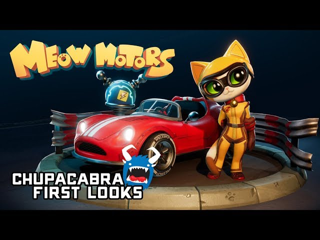 Meow Motors First Look - Battle As Colorful Cartoon Cats on the Racetrack!