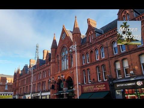 Tour of Dublin, Ireland - City Center (Part 1)