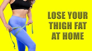 Lose Thigh Fat in Just A week With This 3 Leg Workouts|How To Lose Thigh Fat in A Week At Home