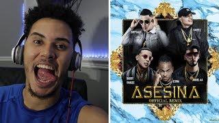 Asesina Remix - Brytiago / Darell / Daddy Yankee / Ozuna / Anuel AA | REACCION
