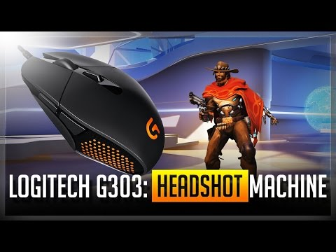 Logitech G303 Unboxing and Review (Overwatch and League of Legends)