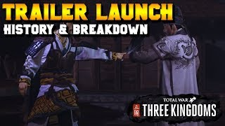 Hero's Journey Trailer Breakdown & Zhuge Liang HIstory | Total War: Three Kingdoms