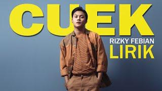 Download Rizky Febian - Cuek [Lirik]