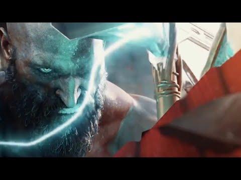 THOR Vs. KRATOS - Full Fight (EPIC BATTLE!) | God Of War Vs. God Of Thunder