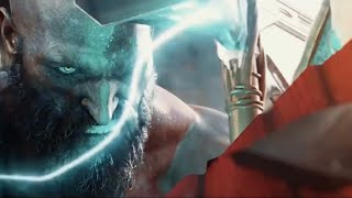THOR vs KRATOS Full Fight God Of War vs God Of Thunder