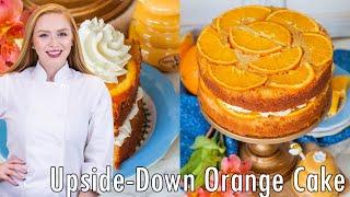 Upside Down Orange Honey Cake +Cookbook Giveaway!
