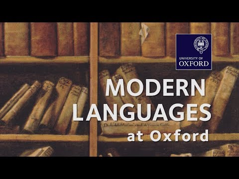 Modern Languages at Oxford University