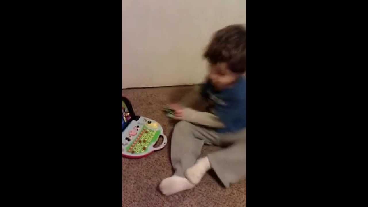 Autistic Child Hitting Self in Head - YouTube
