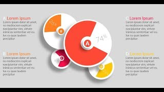 How to create creative chart infographic in Microsoft PowerPoint. PPT tricks.