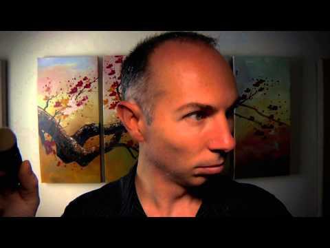 ASMR Binaural Brushing 1 - Massage your Brain - Talking & Not Talking Version