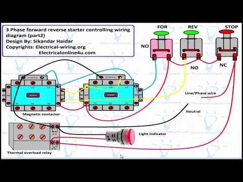 Electric Motor Wiring Diagram Forward Reverse from i.ytimg.com
