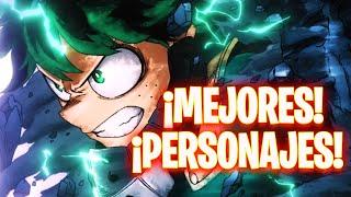 🔥¡Los MEJORES PERSONAJES de My Hero Academia: The Strongest Hero!🔥