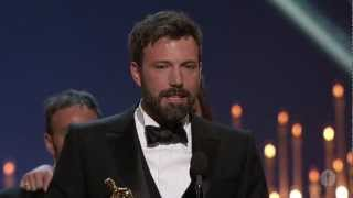 """Argo"" winning Best Picture"