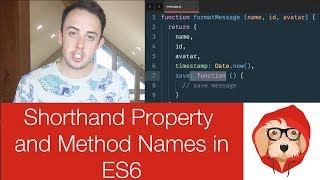 Shorthand Property and Method Names in JavaScript ES6 | ES2015