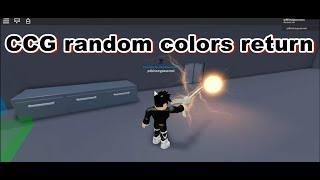 {Roblox} Ro-Ghoul CCG random colors return