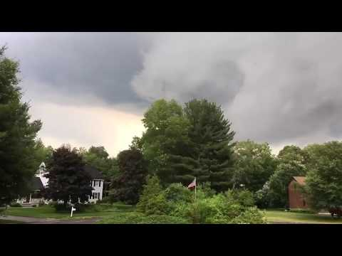 Funnel cloud spotted in Western Massachusetts confirmed by National Weather Service (Video)
