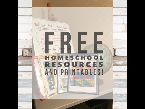 Free Homeschool Resources!
