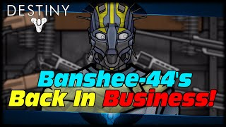 Banshee-44 Is Open For Arms Day Reputation Earning Sept 9th 2015! Destiny Gunsmith Arms Day!