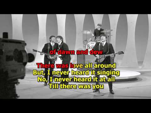 Till There Was You Karaoke (Original) - The Beatles (High Quality)