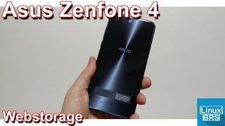 Asus Zenfone 4 - WebStorage: armazenamento nas nuvens screenshot 2
