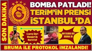 Galatasaray Bruma Transferini Bitirdi! I İstanbul'a Geldi! I Son DAKİKA