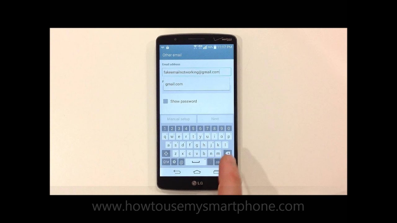 How to Setup Email - LG G3