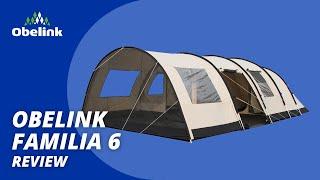 Obelink Familia 6 tunneltent - Wat is een goede familietent? | Obelink Vrijetijdsmarkt