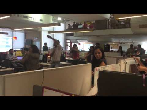 Flash mob cheil india office