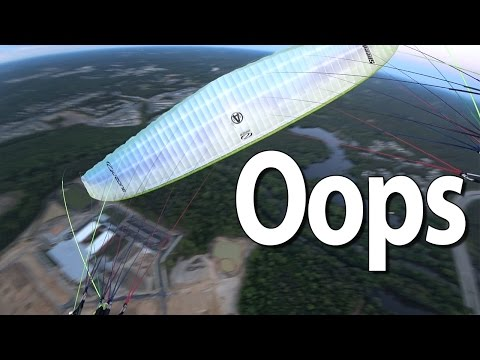 Woody Cheats Death - Paramotor Mistake