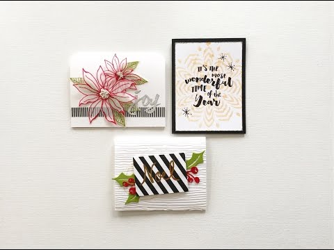 Easy Accents for Holiday Card Making